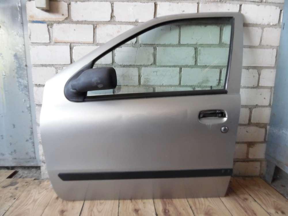 Fiat Punto 176 Fahrertür Tür vorne Links Silber Grigio Steel Farbcode: 647