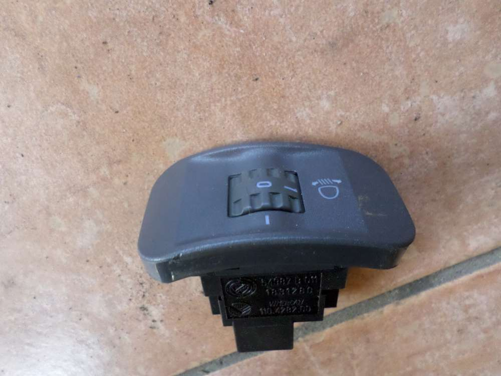Fiat Punto 176 Schalter LWR Leuchtweite Leuchtweitenregulierung 54987 1831280 110428200