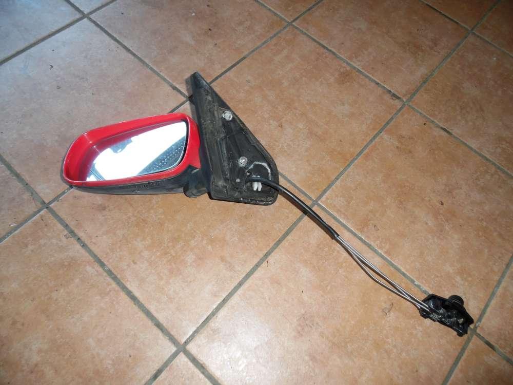 VW Golf IV original Spiegel Außenspiegel elektrisch Spiegelglas vorne links 1j0857689