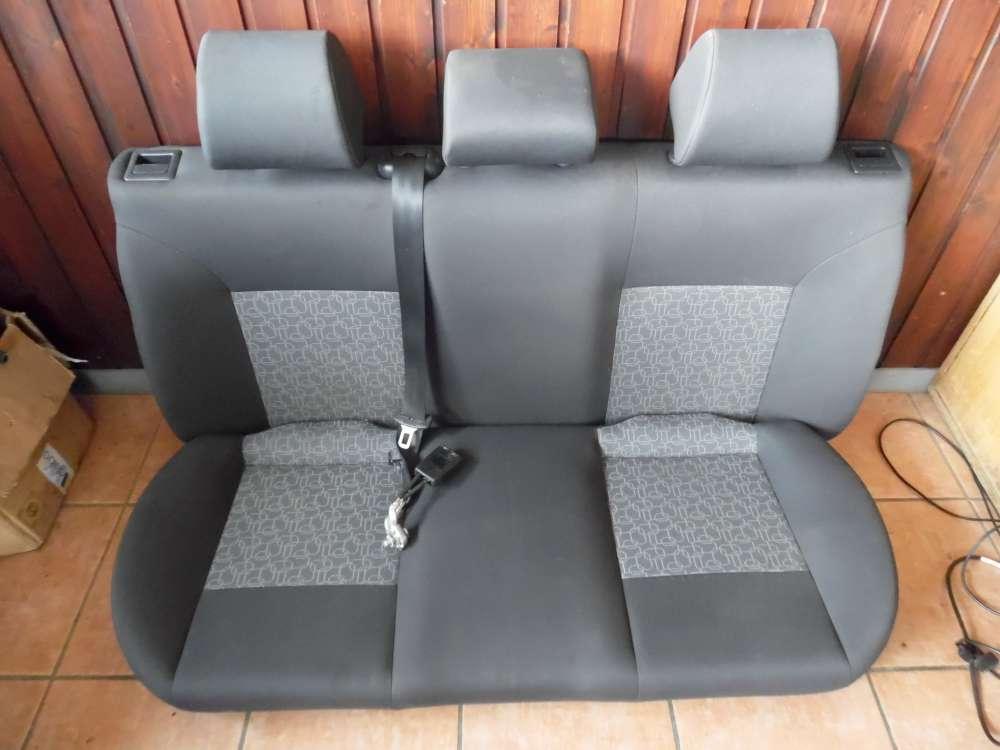 Seat Ibiza 6L  Rücksitz Sitz hinten Rücksitzbank