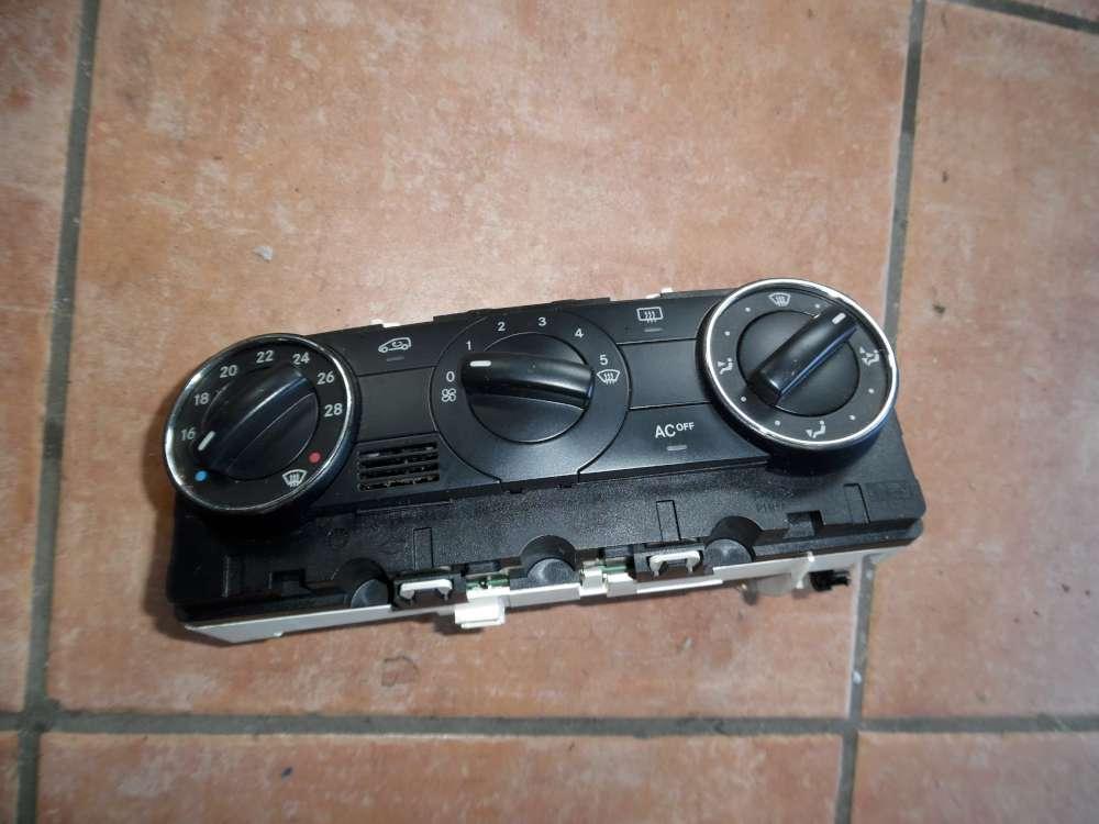 Mercedes A-Klasse W169 A 150 Original Klimabedienteil Klima Heizung Schalter A1698300585