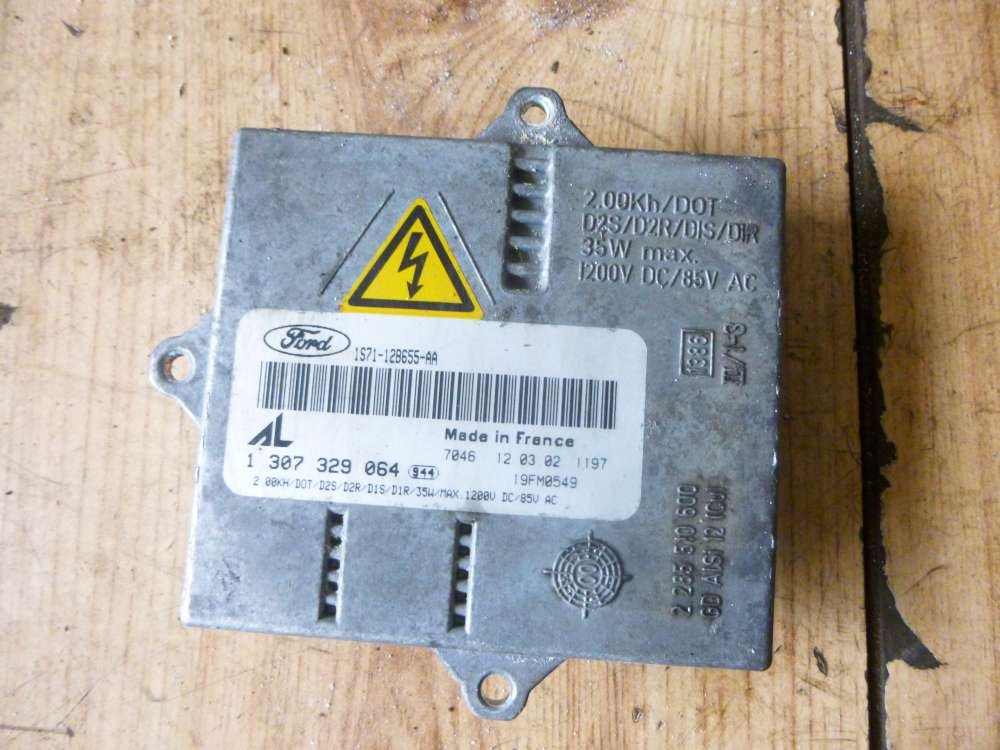 Ford Mondeo Bj:2003 Xenon Brenner Steuergerät 1307329064  1S71-12B655-AA