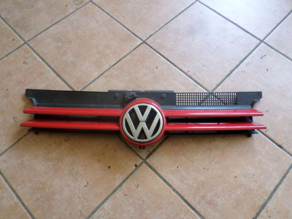 VW Golf 4 Grill Kühlergrill Rot 1J0853655C