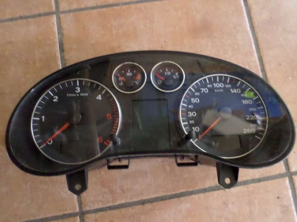 Audi A3 8P Bj 2007 Tacho Kombiinstrument 134754 KM 8P0920931