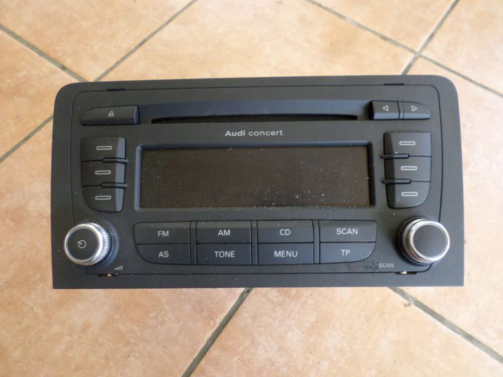 Audi A3 8P Bj 2007 CD Radio Concert MP3 8P0 035 186 G