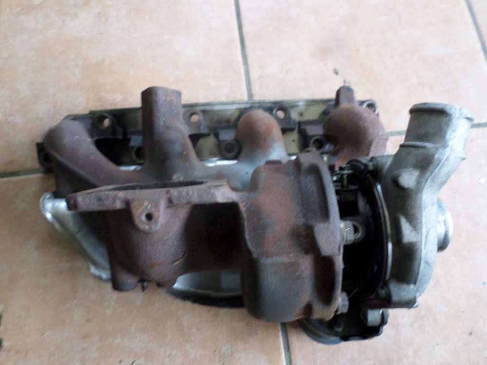 Ford Mondeo BWY Bj 2002 Turbo Turbolader Abgaskrümmer Krümmer 2S70-6K682