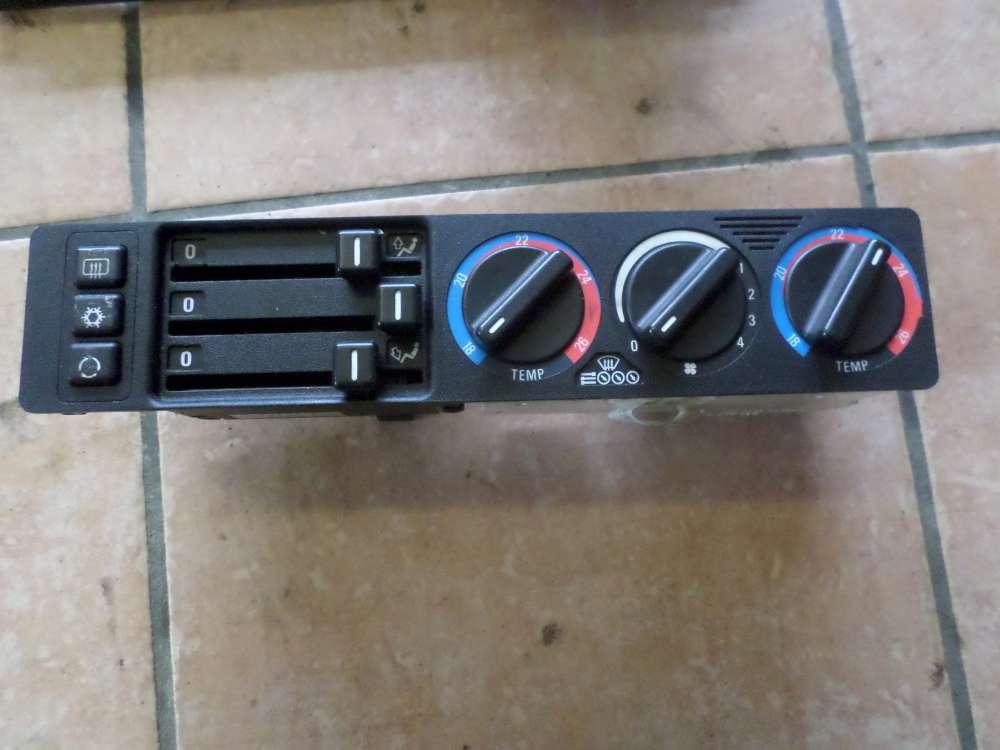 BMW E34 525TDS Klimabedienteil Klimabedienteil Klimaanlage mit Schalter 8351110
