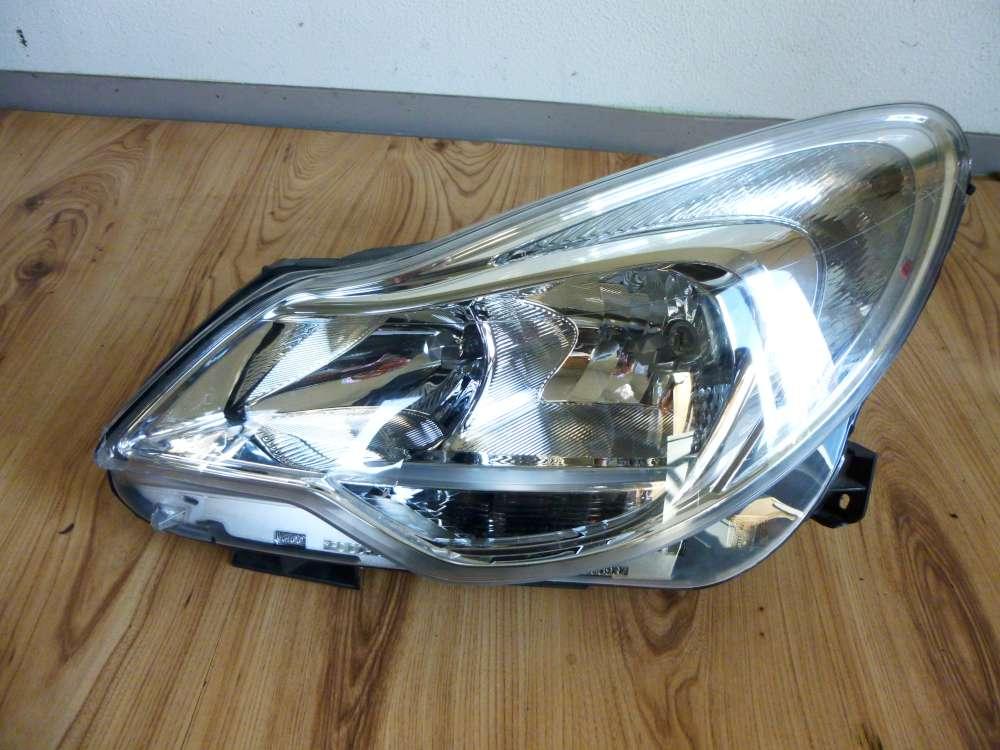 Scheinwerfer links Opel Corsa  Facelift  mit LM. 13392705  90020215.