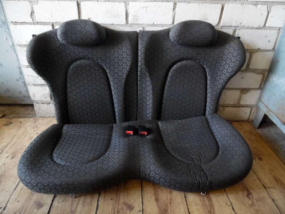 Ford KA Bj 96 Sitz Rücksitzbank Rückbank Rücksitze Sitze hinten  3 Türer