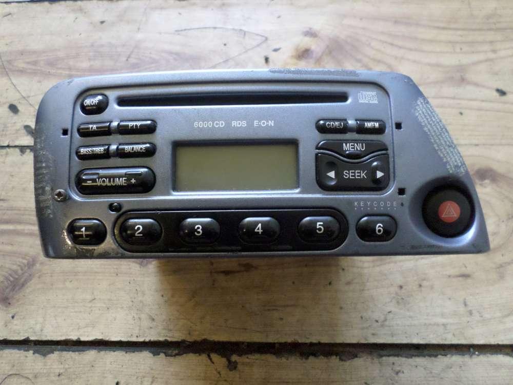 Ford KA Autoradio Radio CD Tuner  6000 CD Tuner 97KP18C815BD