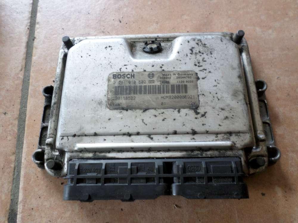 Renault Kangoo Bj 2001 Motor Steuergerät Motorsteuergerät 0281010502