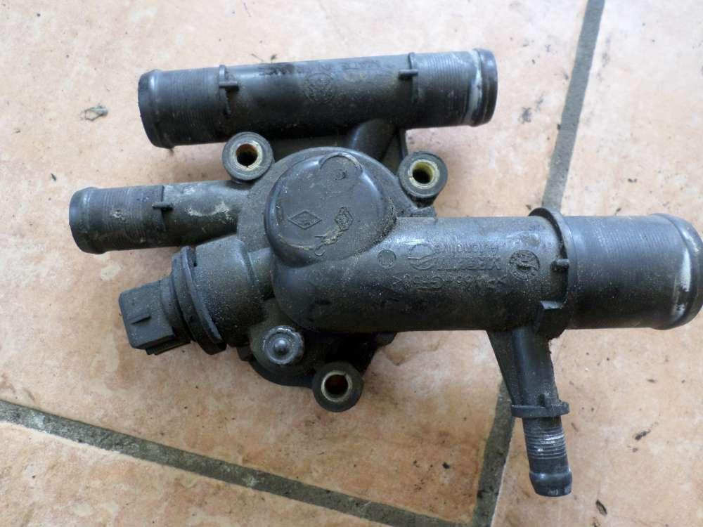 Renault Kangoo Bj:2001 Thermostatgehäuse Thermostat Flansch 8200074346 D
