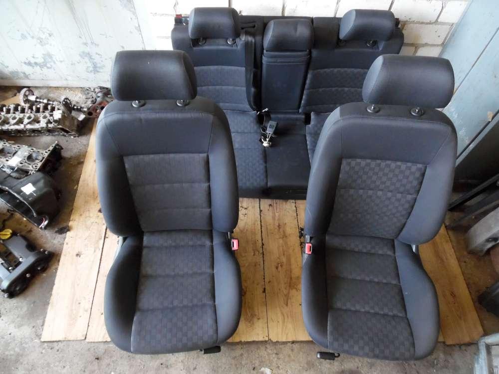 Audi A6 2.4 Sitze Fahrersizt-Beifahrersitz Mit Airbag-Rücksitzbank Komplett