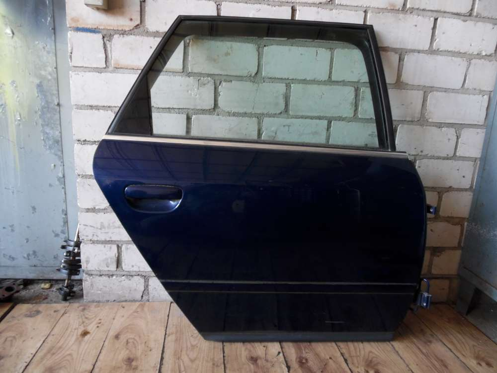 Audi A6 Avant 4B Kombi Tür hinten Rechts Blau Farbcode: LZ5K