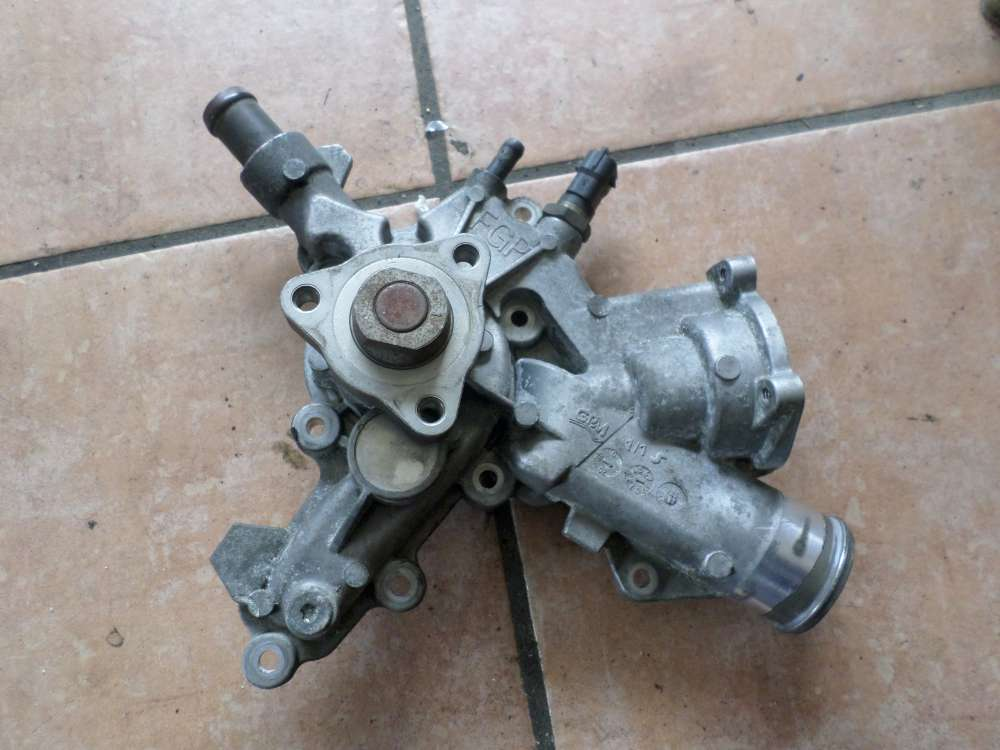 Neu Opel Corsa C Wasserpumpe Pumpe Thermostat 24469103