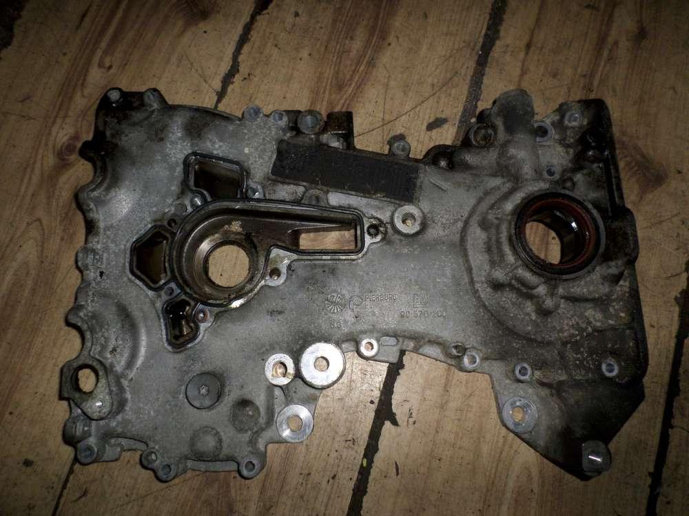 Opel Corsa B original Stirndeckel Stirnwanddeckel Gehäusedeckel 90570200