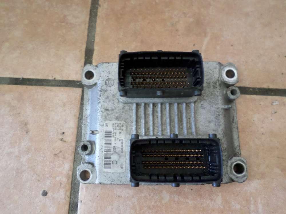 Fiat Idea Bj 2008 Steuergerät Motorsteuergerät 0261201110