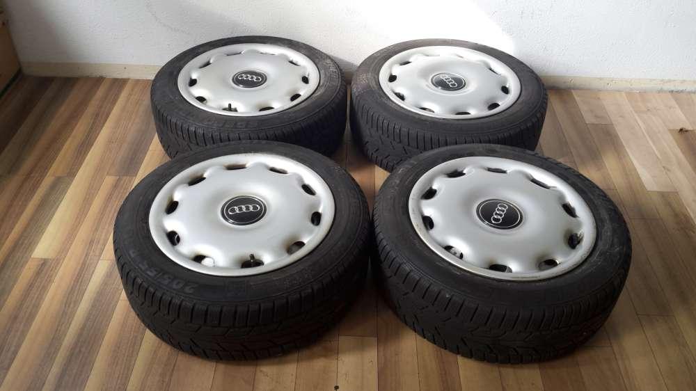 Stahlfelgen Für Audi A4 8E Winterreifen 205/55 R16 91T 7Jx16H2 ET:42 5 Loch