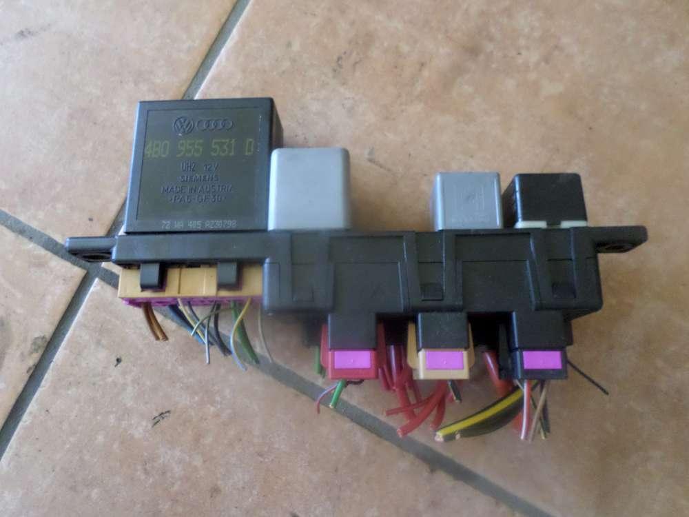AUDI A6 RELAISBLOCK Sicherungskasten Zentralelektrik Relais Relaisträger 8L0941822A