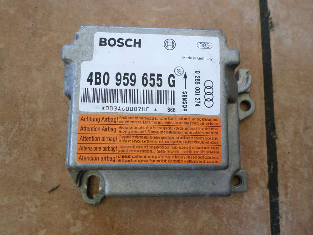 Audi A6 Bj:1998 Airbagsteuergerät 4B0959655G