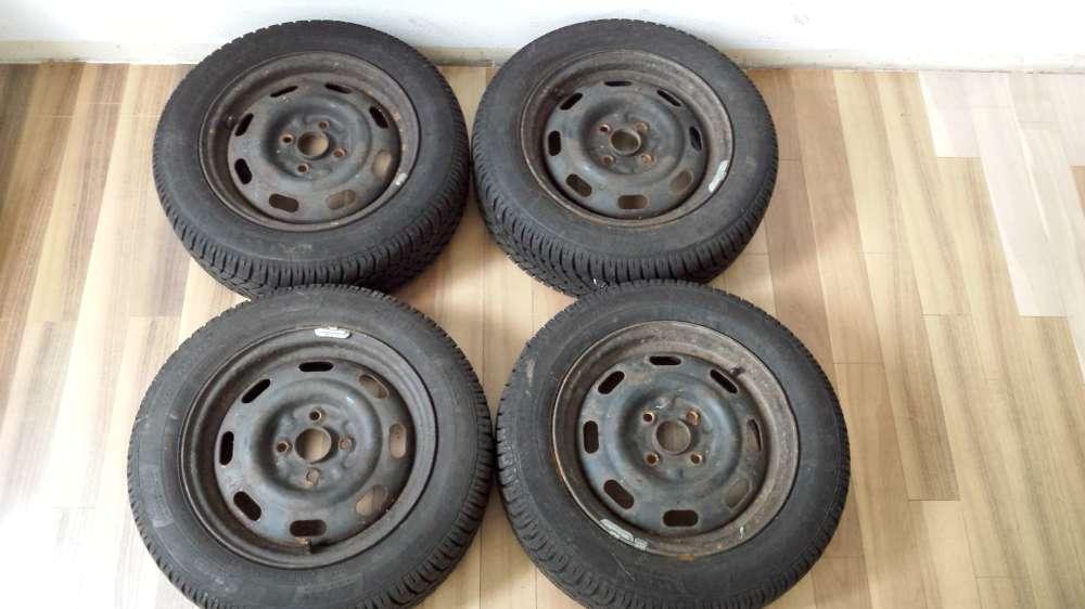 Allwetterreifen Stahlfelgen Für Mazda 626 14x5.5J 185/60 R14 82H  Sava . DOT : 2611