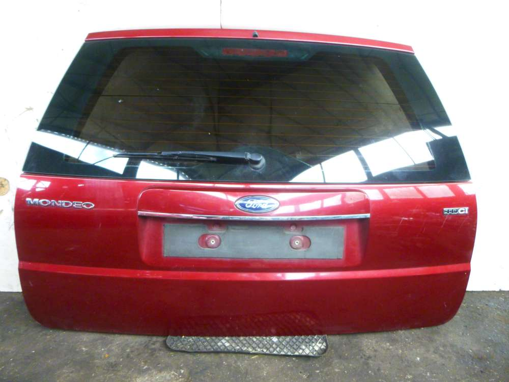 Ford Mondeo III 3 Kombi BWY Heckklappe Kofferraumklappe Rot Farbcode: I3