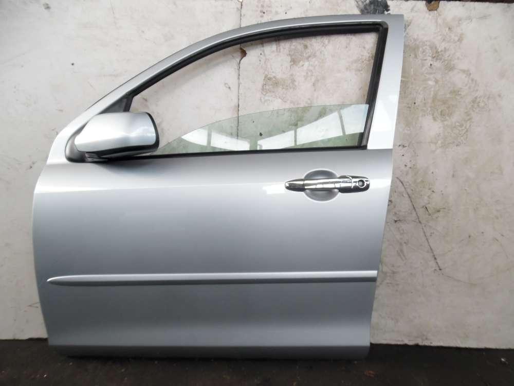 Mazda 2 DY Bj 2004 Fahrertür Tür Vorne Links Farbe: Silber