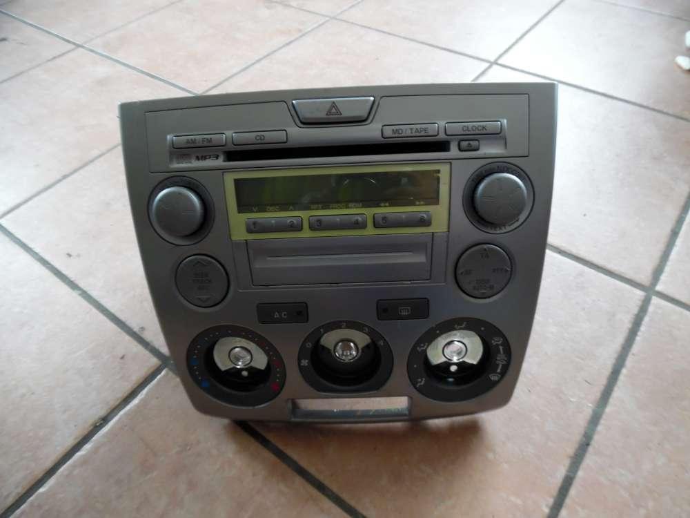 Mazda 2 DY Bj.2004 Klimabedienteil CD Radio 6M71-18K876-CC