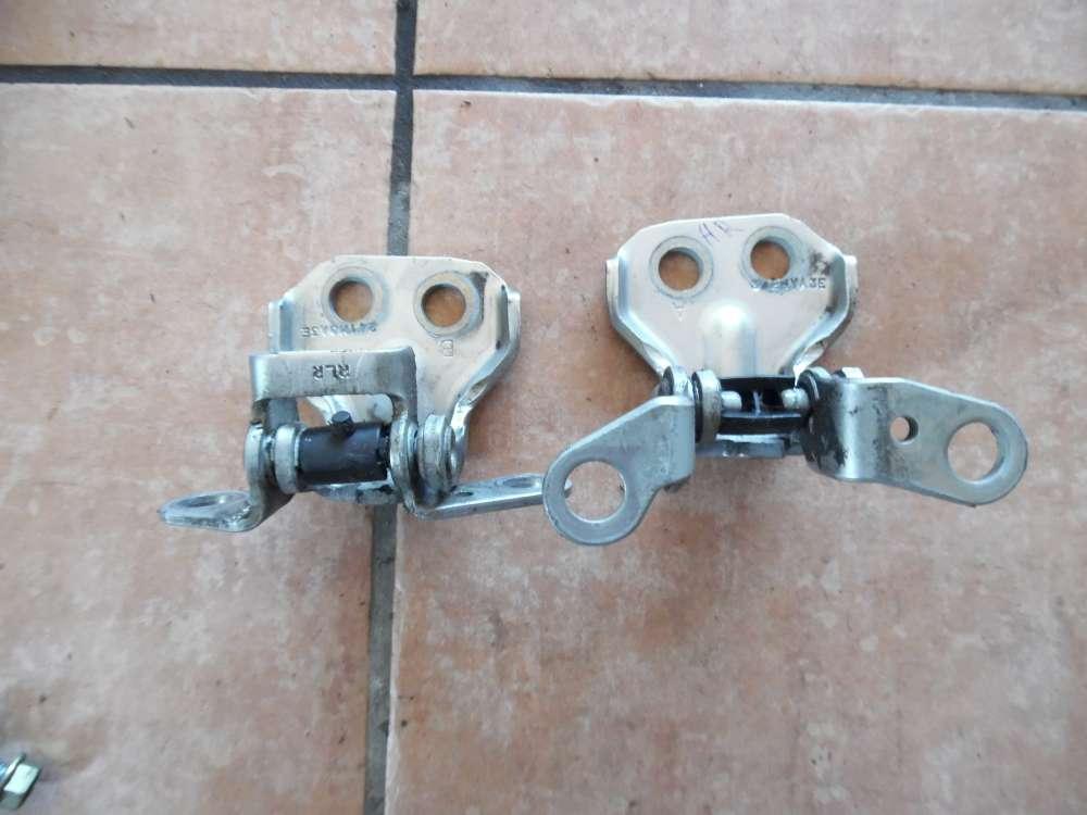 Mazda 2 DY Bj 2004 Türscharniere Scharniere Hinten Rechts