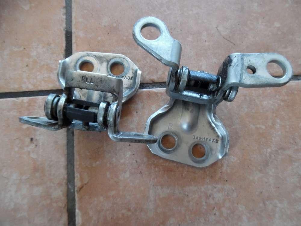 Mazda 2 DY Bj 2004 Türscharniere Scharniere Hinten Links
