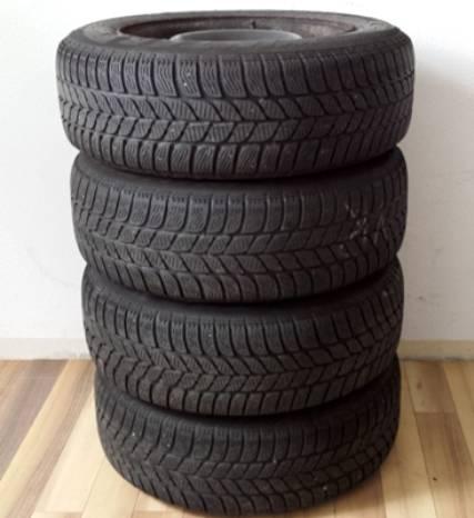 Winterreifen Stahlfelgen Für Peugeot 806 195/65 R15 91T  6.5Jx15 ET: 31  Pirelli