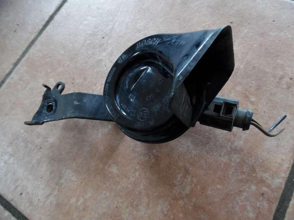 Seat leon 1M Bj 2003 Hupe Hochton Signalhorn Bosch 70/388 1157