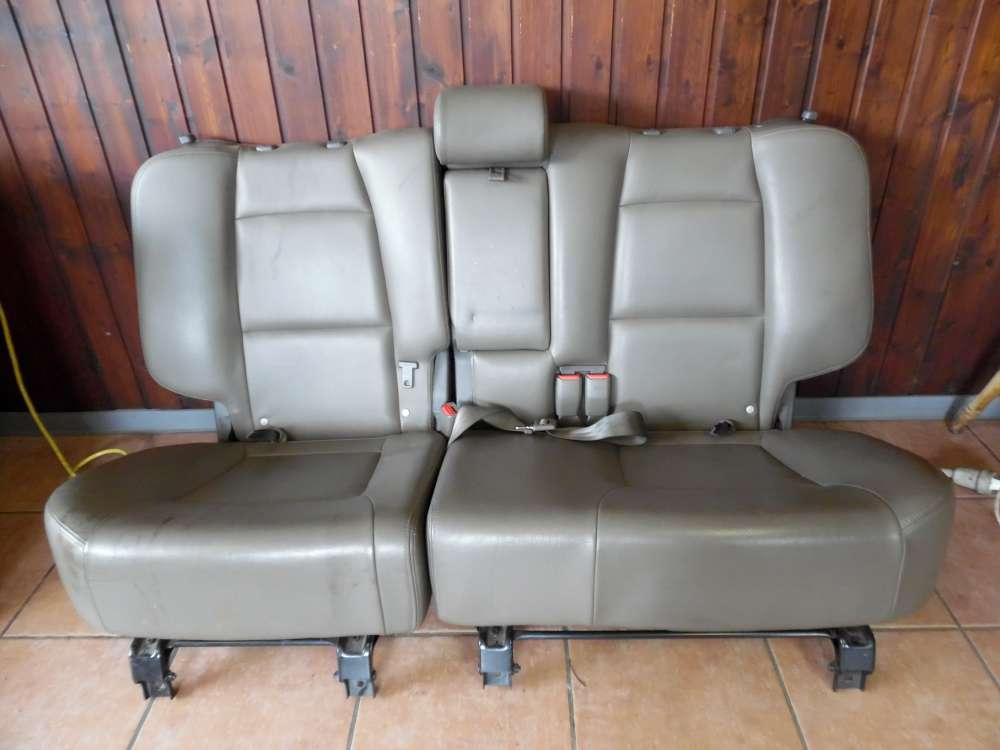Hyundai Santa Fe Bj 2004 5-Türer Sitz Rücksitzbank sitz Leder Hinten