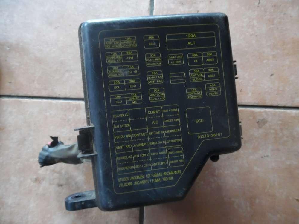 Hyundai Santa Fe Bj:2004 Sicherungskasten Zentralelektrik 91213-26101