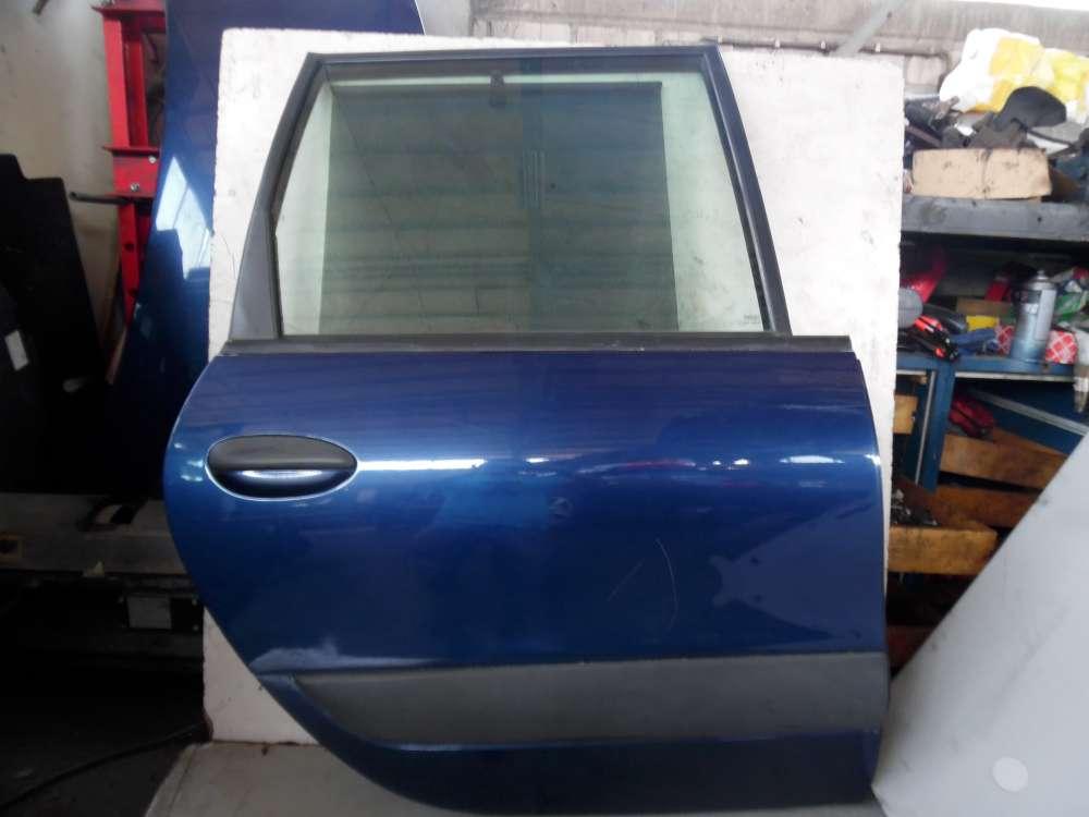 Renault Espace III JE Bj 2001 Tür Rechts Hinten Blau Farbcode: NV 432