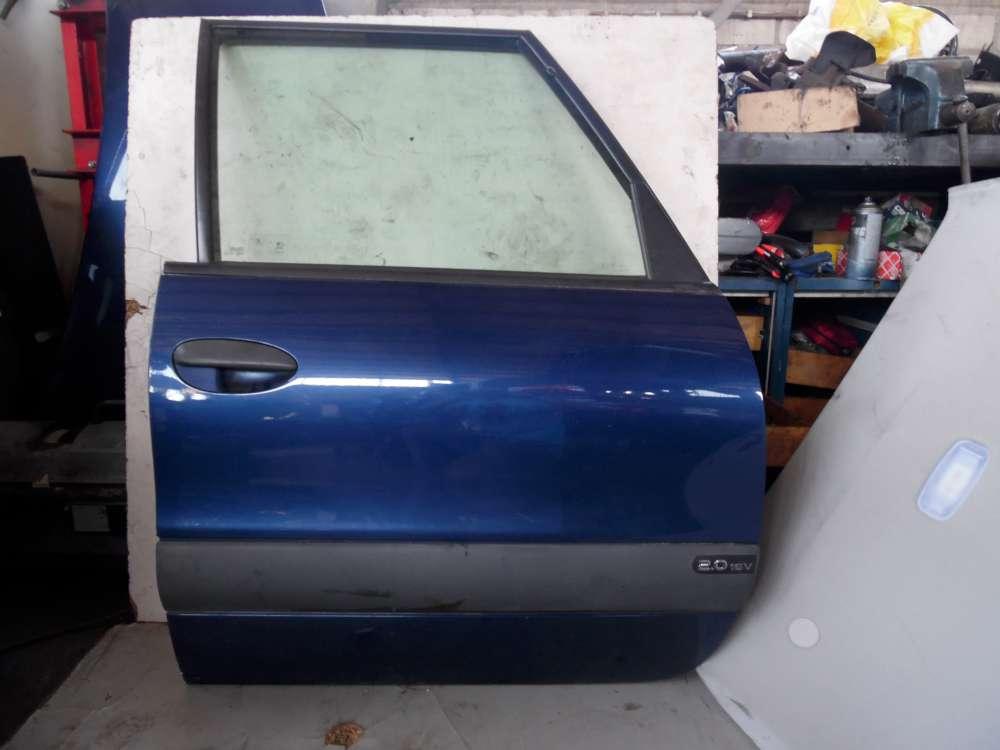 Renault Espace III JE Beifahrertür Tür Rechts Vorne Blau Farbcode: NV 432
