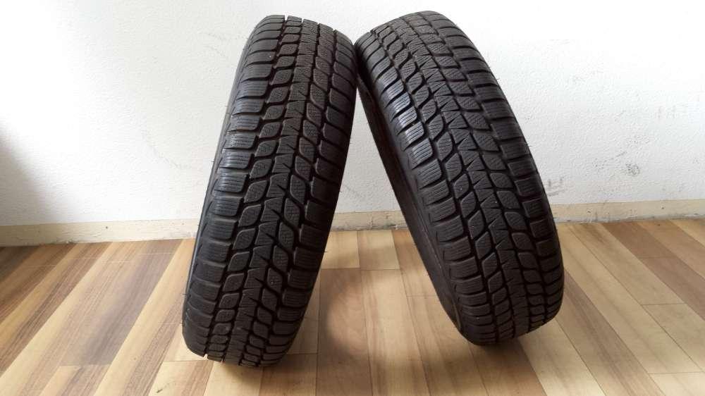2 x Winterreifen Bridgestone M+S 175/70 R14 84T Dot :2511