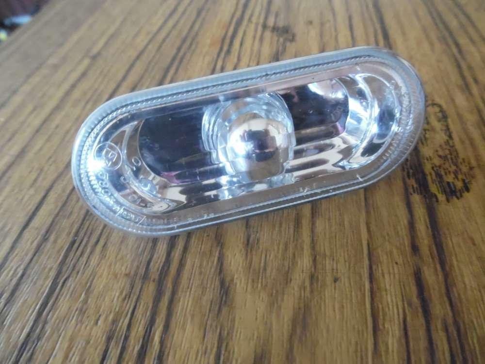VW Seitenblinker weiß/Klarglas  1J0949117