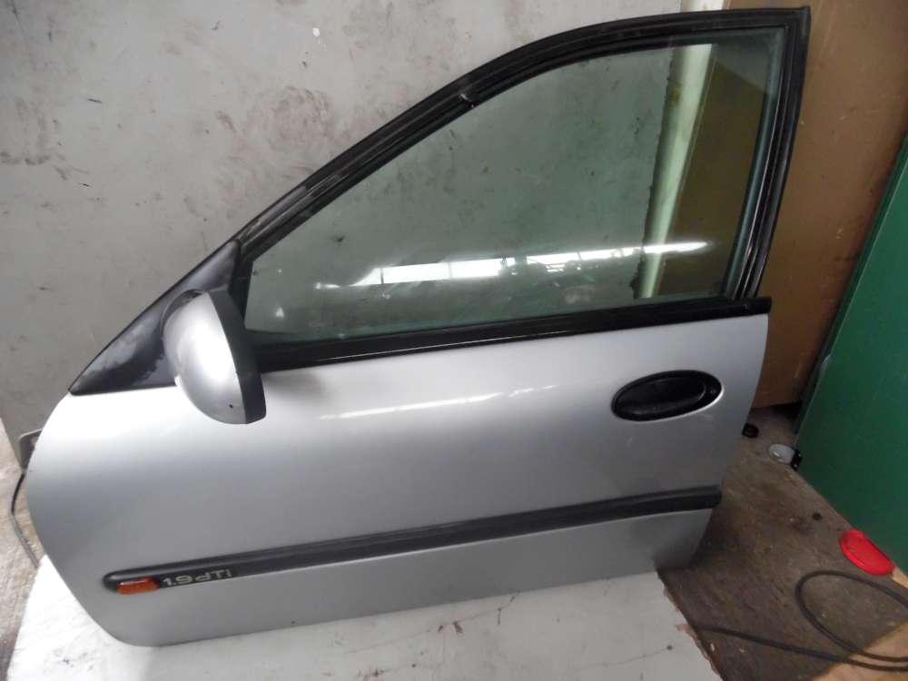 Renault Laguna K56 5 Türen Tür Vorne Links Silber metallic Farbcode:MV 640