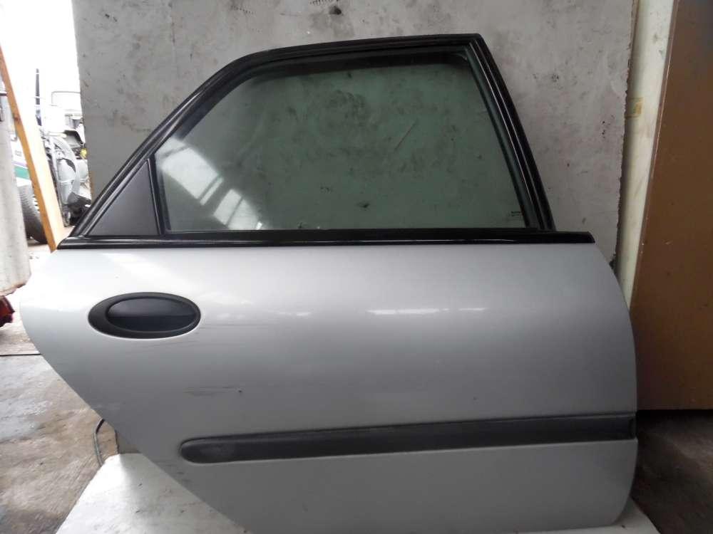 Renault Laguna K56 Bj 1998 5 Türen Tür Hinten Rechts Silber metallic Farbcode:MV 640