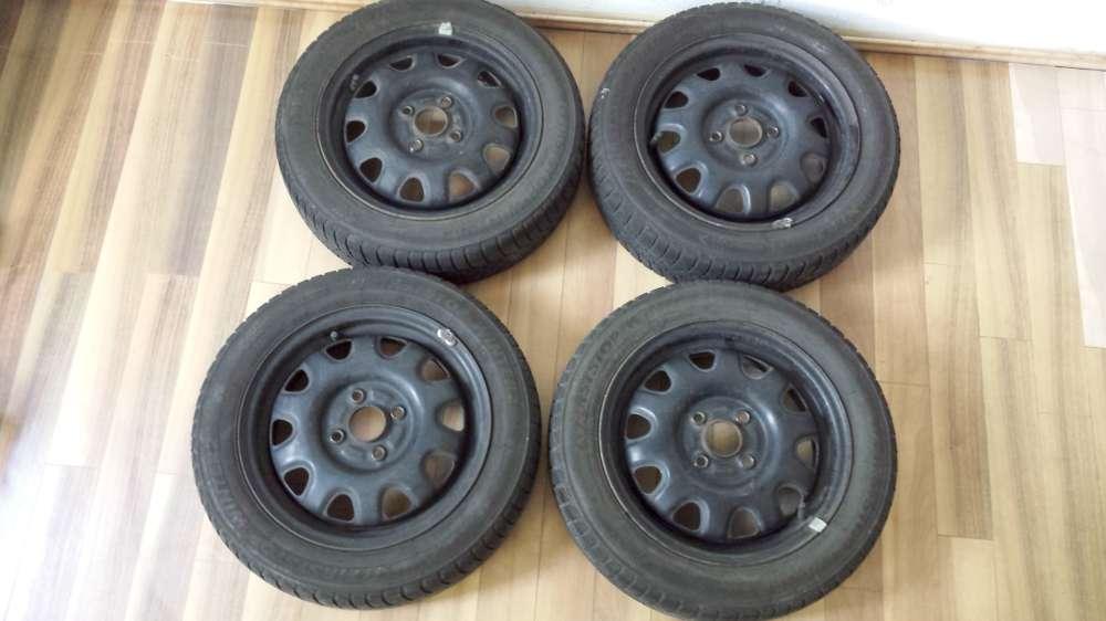 Winterreifen Opel Agila  Suzuki Wagon R 155 / 65 R14 75T 4,5J x 14 ET : 45 LK 4 x 100