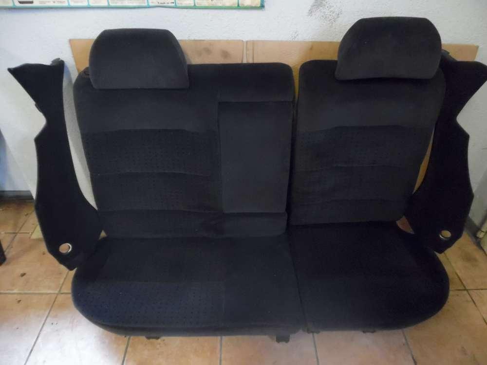 VW Passat Kombi Bj:1998 Hinten Rücksitzbank Sitze Stoff schwarz