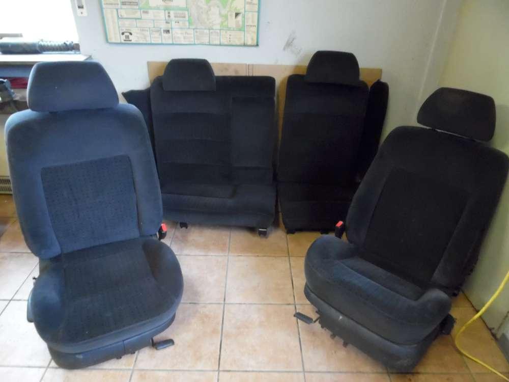 VW Passat Kombi Bj:1998 Komplett Sitze Stoff schwarz