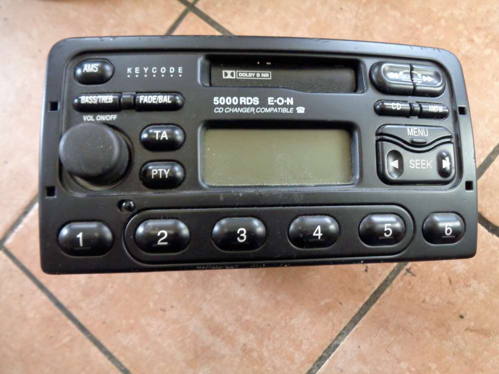 Ford Focus Bj:02 Radio YS4F-18K76BC Codenummer 6133