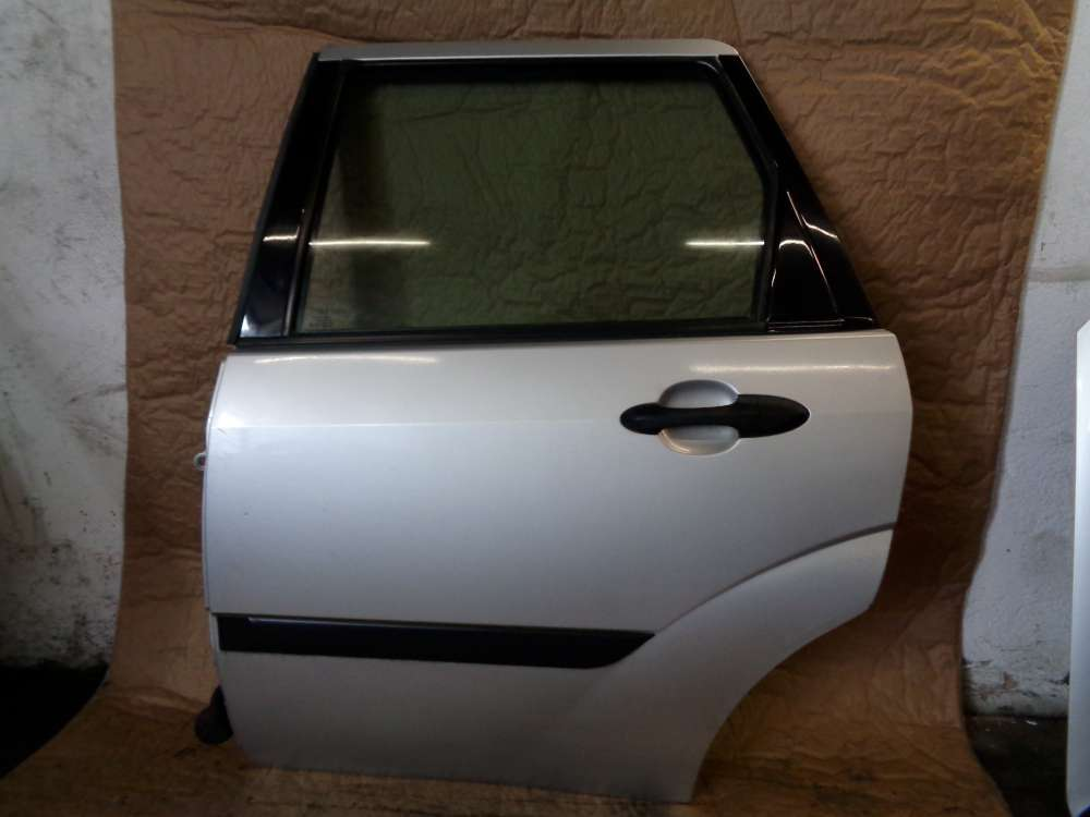 Ford Focus Kombi Bj:99 Tür Hinten Links Farbcode 08 Prolar Silber metellic