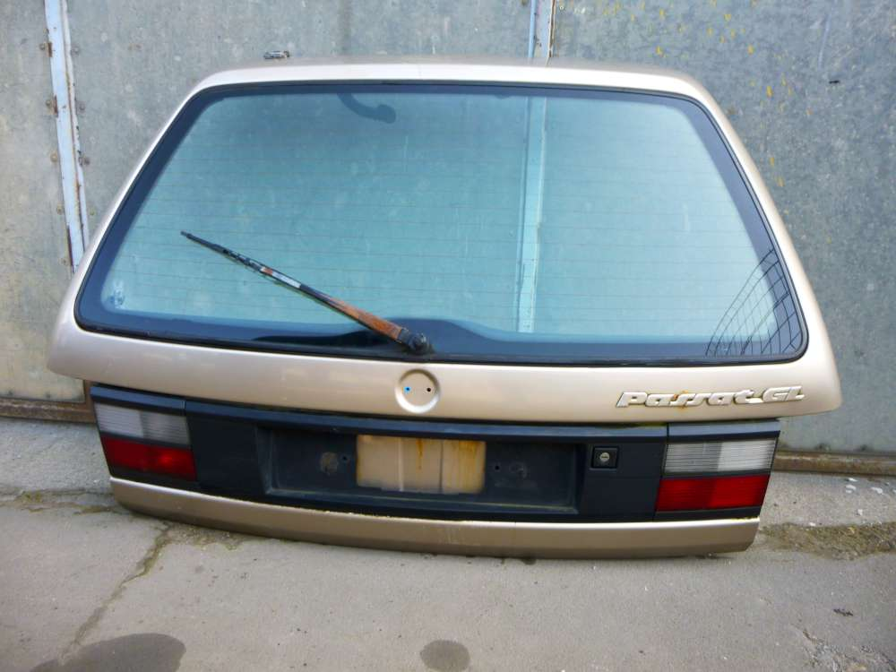 VW Passat GL Heckklappe / Heckdeckel  Kompi Komplett Bj1988-1993