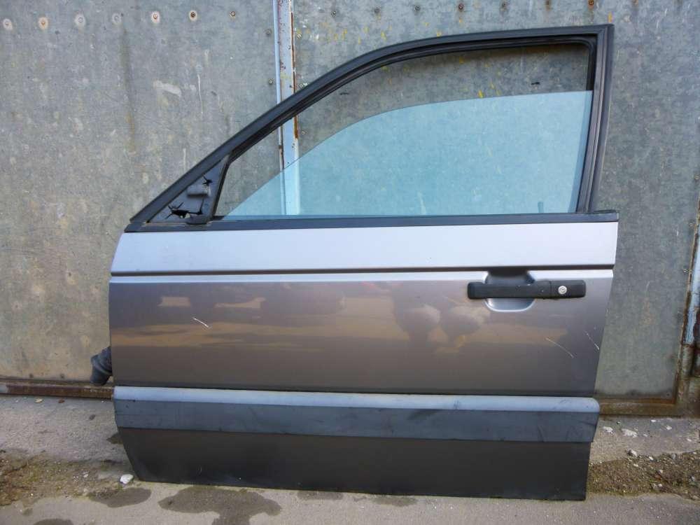 VW Passat 35i Variant von 1988 bis 1993 Fahrertür Tür Vorne Links Farbe: Grau