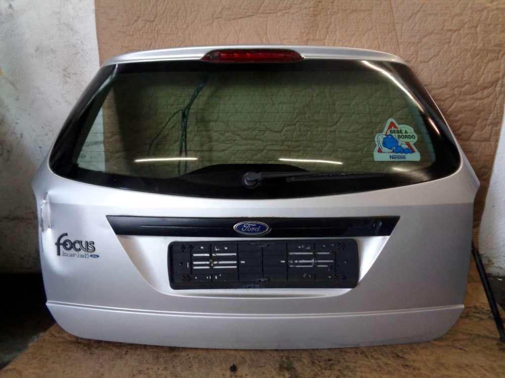 Ford Focus Kombi Bj:99 Heckklappe Kofferraumklappe Polarsilber Metallic Farb 08
