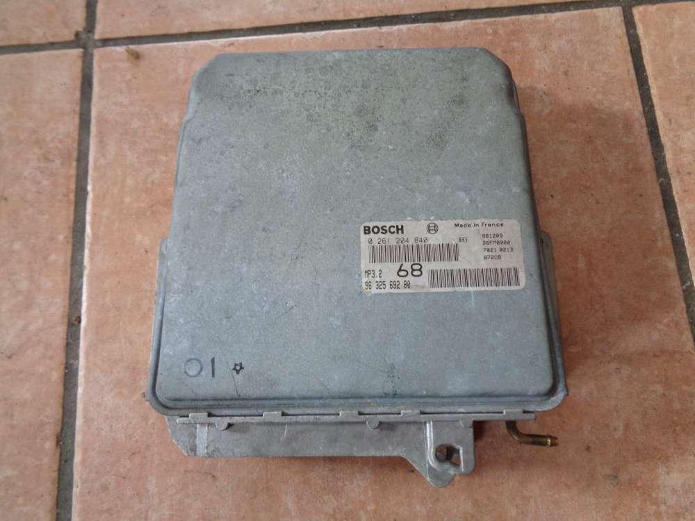 Lancia Zeta Bj:1999 Motorsteuergerät 0261204840 / 9632569280