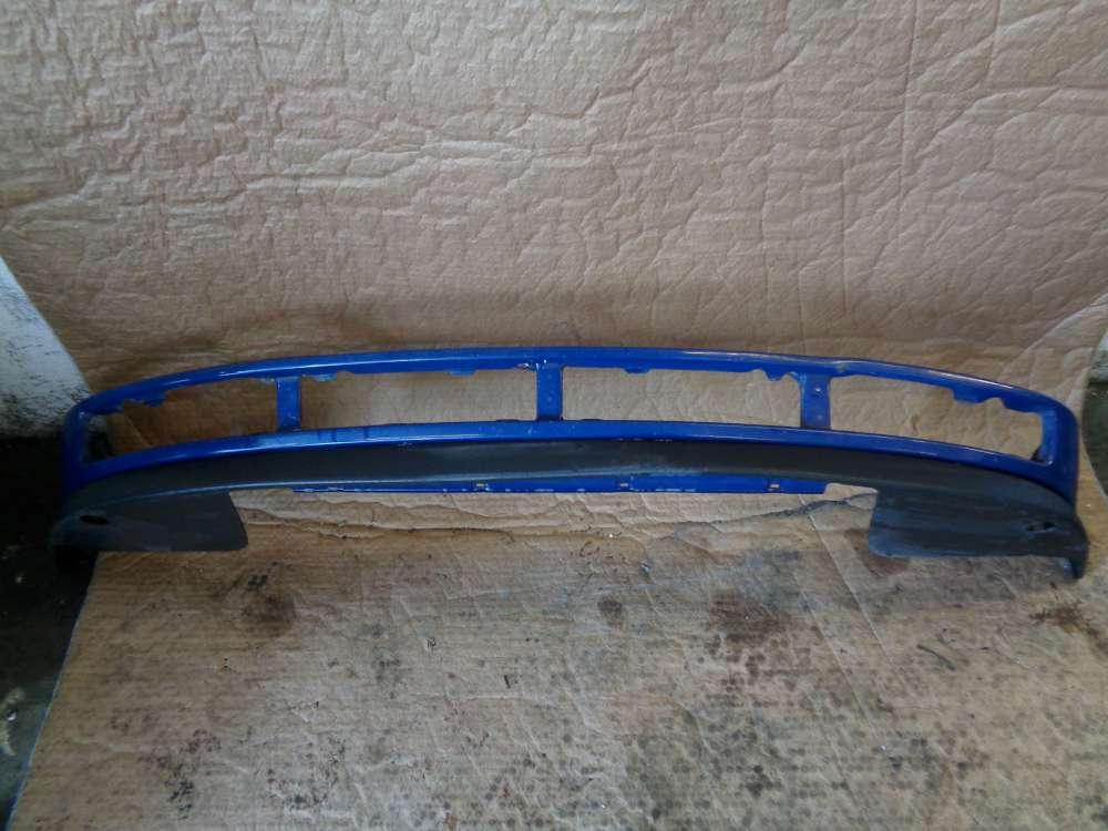 VW Polo 6N Bj:1997 3 Türer Stoßstange Stoßfänger vorne unten Blau